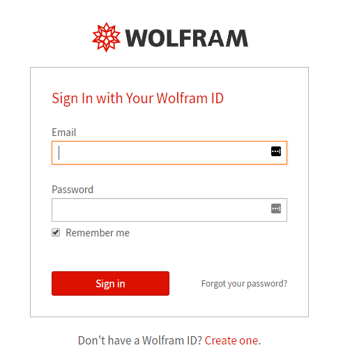 wolfram sign in