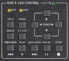 dvd and vcr control